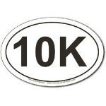 10 K OVAL STICKER Thumbnail