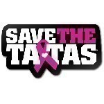 SAVE THE TATAS COLLEGIATE MAGNET Thumbnail