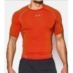 UNDER ARMOUR HEATGEAR ARMOUR S/S SHIRT Thumbnail