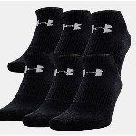UNDER ARMOUR 6 PACK NO SHOW SOCKS Thumbnail