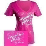 SAVE THE TATAS LAUGHTER HEALS T-SHIRT Thumbnail