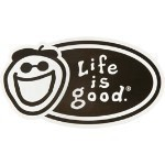 LIFE IS GOOD JAKE STICKER Thumbnail