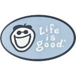 LIFE IS GOOD OVAL STICKER Thumbnail