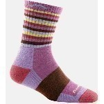 DARN TOUGH STRIPE MICRO CREW SOCKS Thumbnail