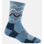 DARN TOUGH WANDERING STRIPE SOCKS Thumbnail