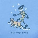 LIFE IS GOOD STARRY TREK T-SHIRT Thumbnail