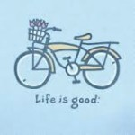 LIFE IS GOOD BREEZY BIKE T-SHIRT Thumbnail