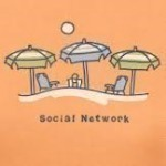 LIFE IS GOOD SOCIAL NETWORK T-SHIRT Thumbnail