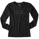 LIFE IS GOOD GOOD DAY LONG SLEEVE SHIRT Thumbnail