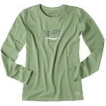 LIFE IS GOOD SKI HAMMOCK LONG SLEEVE TEE Thumbnail