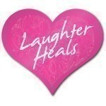 SAVE THE TATAS LAUGHTER HEALS HEART MAGNET Thumbnail