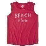 LIFE IS GOOD BEACH MUSCLE TEE Thumbnail