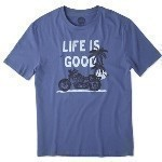 LIFE IS GOOD MOTORCYCLE TEE Thumbnail