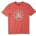 LIFE IS GOOD AMERICANA TEE Thumbnail