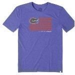 LIFE IS GOOD GATOR FLAG TEE Thumbnail