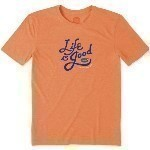 LIFE IS GOOD FLOURISH TEE Thumbnail