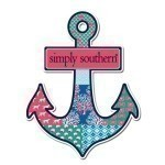 SIMPLY SOUTHERN ANCHOR DECAL Thumbnail