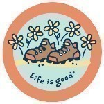 LIFE IS GOOD BOOTS STICKER Thumbnail