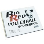 BIG RED VOLLEYBALL SCOREBOOK Thumbnail