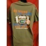 NEW WORLD GRAPHICS CAMO GPS GATOR TEE Thumbnail