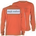 SIMPLY SOUTHERN LOGO LONG SLEEVE T-SHIRT Thumbnail