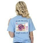 SIMPLY SOUTHERN PREPPY FLOP TEE Thumbnail