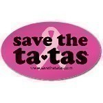 SAVE THE TATAS MAGNET Thumbnail