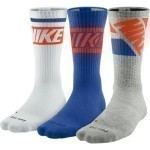 NIKE DRI FIT FLY CREW 3 PACK SOCKS Thumbnail