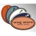 WAG MORE BARK LESS MAGNET Thumbnail