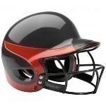 WORTH LIBERTY BATTER'S HELMET WITH FACEGUARD Thumbnail